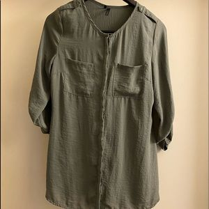 Maurices Blouse Small Buttonup